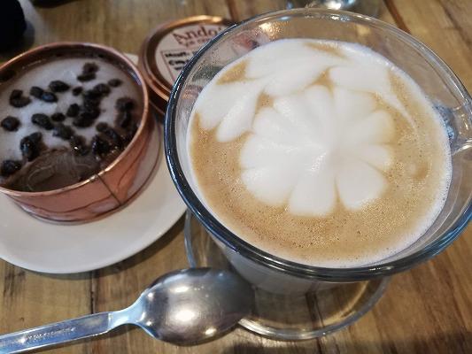 alima cafe コーヒー