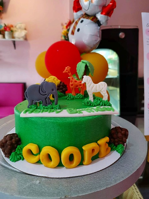 動物 ケーキ