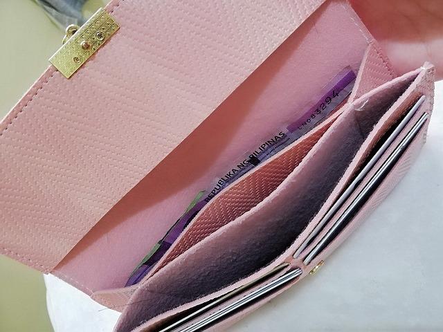 フィリピン用の財布の中身