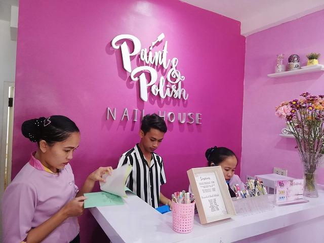 Paint and Polish Nail House 外観