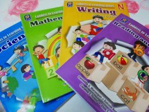 フィリピン幼稚園 教科書