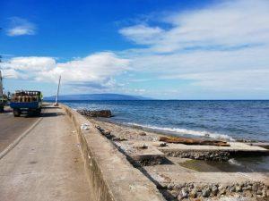 ドゥマゲテ 海沿い
