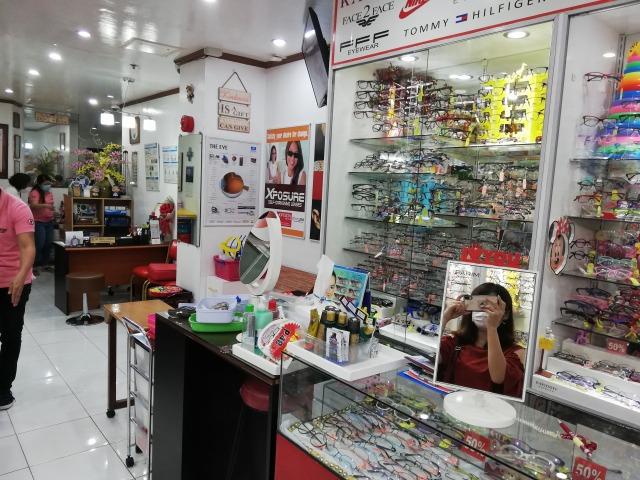 フィリピン ドゥマゲテ メガネ屋