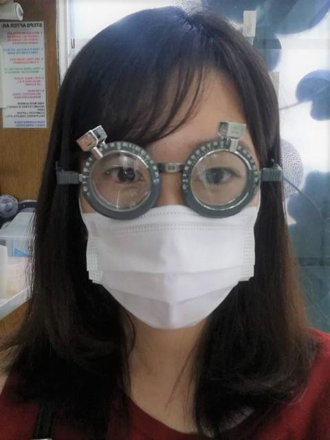 フィリピン ドゥマゲテ 視力検査